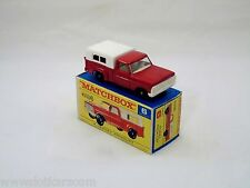 Matchbox Lesney # 6 Ford Pick-Up Auto-Steer  neuf/boîte (#MBB)