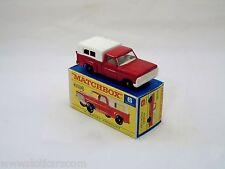 Matchbox Lesney # 6 Ford Pick-Up Auto-Steer  neuf/boîte (#MBB)