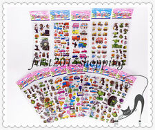 3D Stereoscopic toy story/PVC Puffy Stickers Childrens - 12 sheets/lot gift