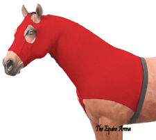 Horse Mane Stay Slinky - Red Lycra - Size Small - Last One!