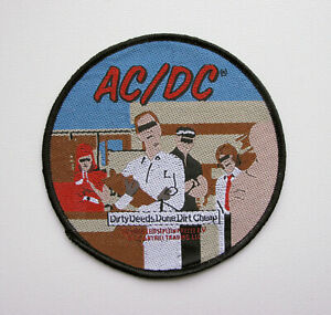 AC/DC - Dirty Deeds Done Dirt Cheap  - Official Woven Patch
