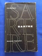 SARTRE. ROMANTIC RATIONALIST - FIRST AMERICAN EDITION BY IRIS MURDOCH