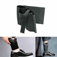 Gun Pistol Tactics Concealed Carrying Ankle Leg Holster Magazine Bag Durable LS