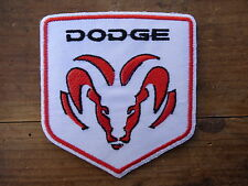 ECUSSON PATCH THERMOCOLLANT aufnaher toppa DODGE harley chopper biker country