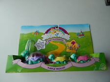 Magic Trolls Baby Playfriends Turtle Trolley Applause Toys 1992