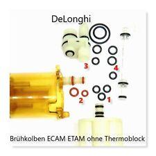 DeLonghi AEG Dichtungssatz O-Ring SET klein Kolben ohne Thermoblock ECAM ETAM