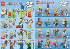 LEGO MINIFIGURE SERIES SIMPSONS 1 et 2 - Minifigurine ô choix - Choose -NEUF NEW