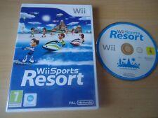 Wii Sports Resort NINTENDO WII GAME UK PAL ORIGINAL - FAST FREE UK P&P