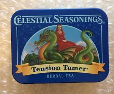 NEW 2016 COLLECTIBLE TIN Celestial Seasonings Tension Tamer