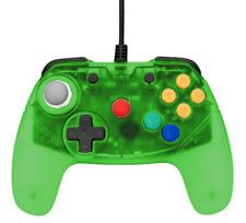 Retro Fighters Brawler64 Controller Jungle Green Funtastic Inspired Nintendo 64
