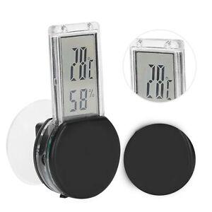 Reptile Pet Tank Thermometer Hygrometer Temperature Humidity Terrarium Monitor