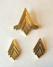 Battlestar Galactica (BSG) Captan Rank Pin Set & Junior Officer Wings