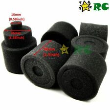 6pc 1/8 RC Nitro Engine Buggy Air Dust Filter External Spare Replacement Sponges