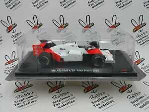 "Die Cast "" Mclaren Mp 4/28 - Alain Prost - 1985 "" Car For Corsa 1/24"