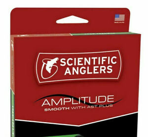 Scientific Anglers Amplitude Smooth Clear Creek Taper Fly Line WF-3-F