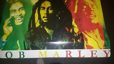 BOB MARLEY PIN UP POSTER 22 X 34 INCHES.IN NEW IN PLASTIC STYLE# 550404444