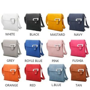 Womens crossbody bag /Faux leather with multipocket/ casual Handbag with strap