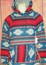 MENS BROOKLYN CLOTH TRIBAL HOODIE SWEATSHIRT SIZE L
