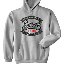 BMW K1200RS - GREY HOODIE - ALL SIZES IN STOCK