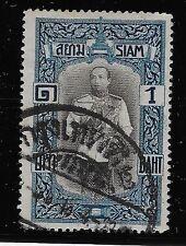 Thailand 1917  King Vajiravudh, 1B,  Used (BX3)