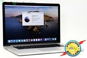 """(👍A) Mid 2014 Apple MacBook Pro 15"""" Retina i7 2.2GHz 16GB 256GB SSD A1398"""