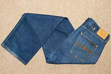Nudie Jeans Mens Fast Freddy Chinch Back Loose Fit Dark Blue - W32 L32 / 32 Reg