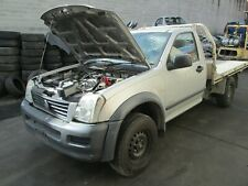 2005 HOLDEN RODEO AUTO LOW KMS WRECKING