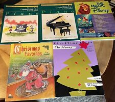 Lot Of 5 Piano Practice Lesson Books Alfred's Basic Library Hal Leonard Schaum