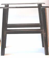 """BANCO in acciaio tavolo scrivania piedistallo gambe-industriale, in acciaio saldato, non cucito 28""""-71cm"""