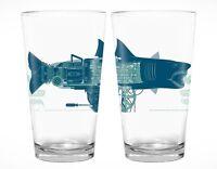 MONDO Alamo Drafthouse Exclusive JAWS Pint Glass