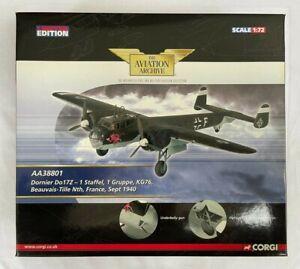 Corgi Aviation AA38801 Dornier Do17Z Sept 1940 Boxed model – Limited Edition