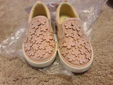 NWT Gymboree Pink Flower Slip On Sneaker Girls 9