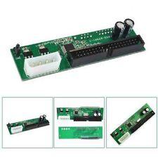 1* PATA IDE TO SATA Converter Adapter Plug 7+15 Pin 3.5/2.5 SATA HDD DVD Gre QA