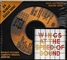 WINGS - AT THE SPEED OF SOUND/ DCC /GZS-1096 / 24 KARAT GOLD CD / NEW&SEALED!