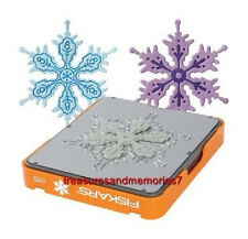 Fiskars Fuse Creativity Design Set 0112 SNOWFLAKE Die Cut & Letterpress