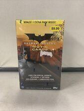 Sealed Batman Begins 2005 Topps Movie Cards Blaster Trading Cards