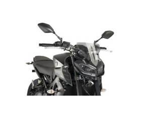 Puig Light Smoke Sport Screen Yamaha FZ-09 MT-09 17-