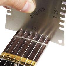 4pcs Set Steel Guitar Notched Fingerboard Fretboard Radius Gauge Luthier Tool
