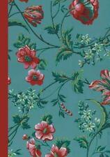 Carnet Ligne Motif Fleurs, Papier Peint 18e (Paperback or Softback)