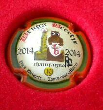 capsule de champagne peinte a la main yves delporte