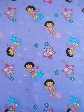 "Dora Fabric 1 1/2 Yards  54"" x 44""   Dora and Boots Fabric"