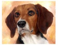 artav Beagle 08 Art Print of Acrylic on Canvas Painting