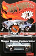 Hot Wheels 2013 RLC Club Car Chrome '68 COPO Camaro With Button