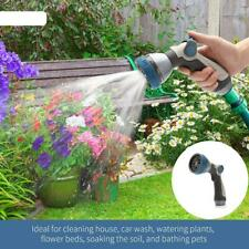 8 Patterns High Pressure Spray Nozzle Garden Hose Nozzle for Watering Washing
