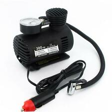 12V Portable Mini Air Compressor 300 PSI Bike Car Tyre Inflator Pump Cigarette *