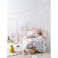 Hiccups Party Time Queen Bed Size Duvet Doona Quilt Cover Set
