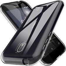 Dünn Ultra Slim Cover Nokia 1 Handy Hülle Silikon Case Schutz Tasche