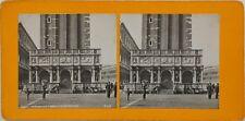 Venise La Loggia de Sansovino Italie Photo Stereo Vintage Argentique