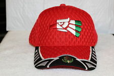0f0f51b0932 HECHO EN MEXICO EAGLE AGUILA BASEBALL CAP HAT ( RED )