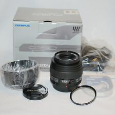 NEW Olympus Zuiko 50mm f/2.0 MACRO Lens four thirds fit (NOT micro four thirds)